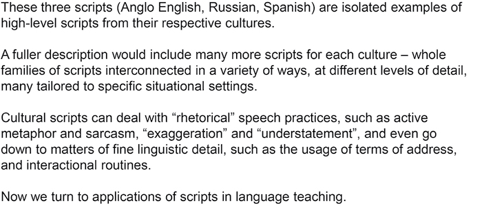 Applications Of Nsm Minimal English Cultural Scripts And Language