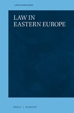 Cover Law in Eastern Europe
