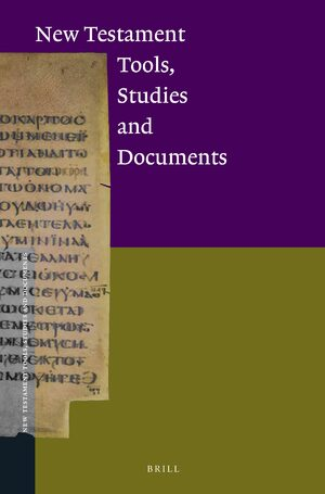 New Testament Tools, Studies and Documents