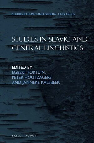 Cover Studies in Slavic and General Linguistics