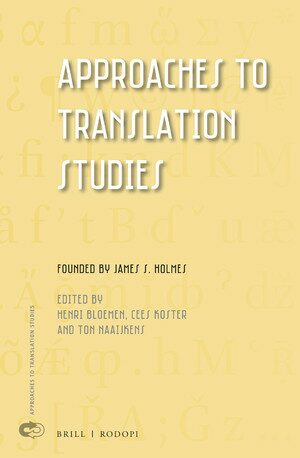 Cover Approaches to Translation Studies