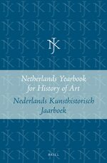 Cover Netherlands Yearbook for History of Art / Nederlands Kunsthistorisch Jaarboek Online