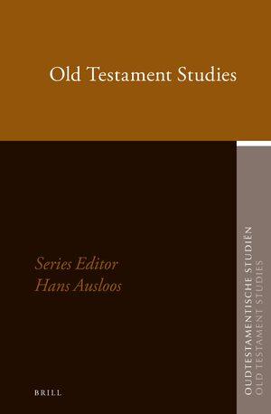 Oudtestamentische Studiën, Old Testament Studies