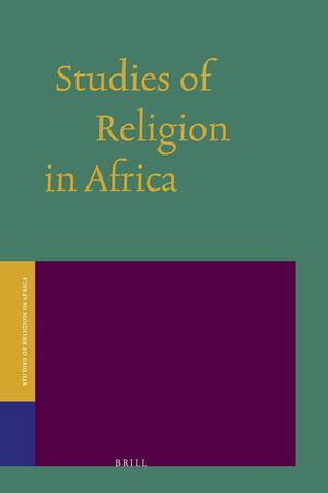 Cover Studies of Religion in Africa