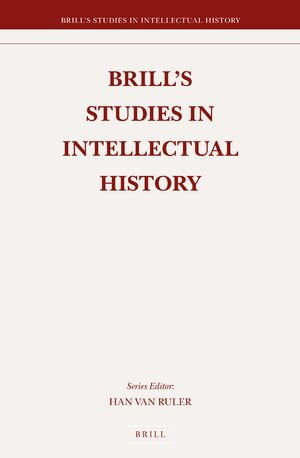 Brill's Studies in Intellectual History