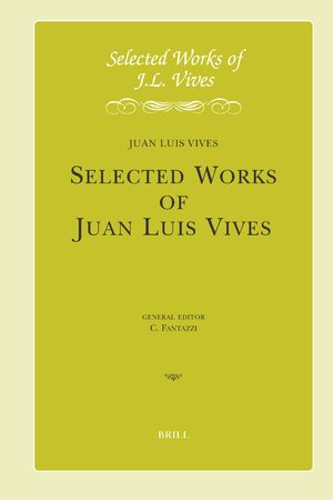 Cover Selected Works of Juan Luis Vives