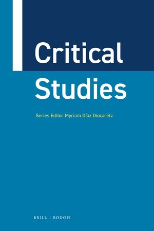 Cover Critical Studies