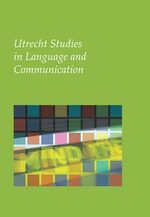 Cover Utrecht Studies in Language and Communication