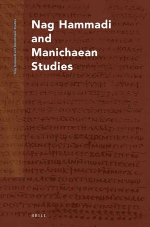 Cover Nag Hammadi and Manichaean Studies