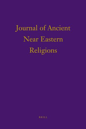 Cover Journal of Ancient Near Eastern Religions