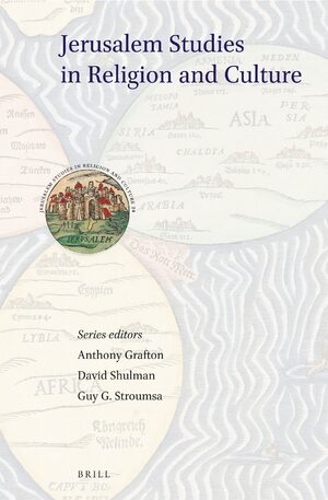 Cover Jerusalem Studies in Religion and Culture
