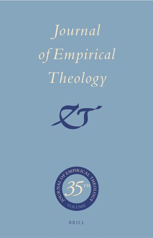 Cover Journal of Empirical Theology