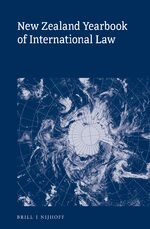 Cover New Zealand Yearbook of International Law