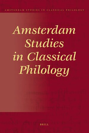 Cover Amsterdam Studies in Classical Philology