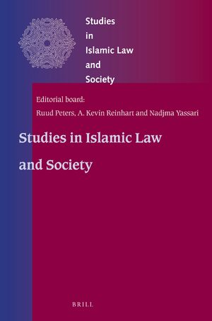 Cover Studies in Islamic Law and Society