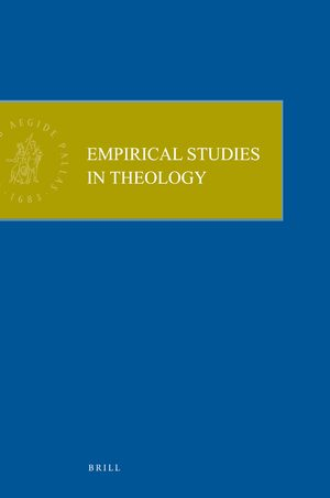 Cover Empirical Studies in Theology