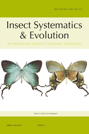 Cover Insect Systematics & Evolution