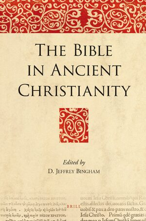 Cover The Bible in Ancient Christianity