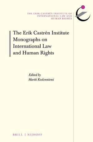 Cover The Erik Castrén Institute Monographs on International Law and Human Rights