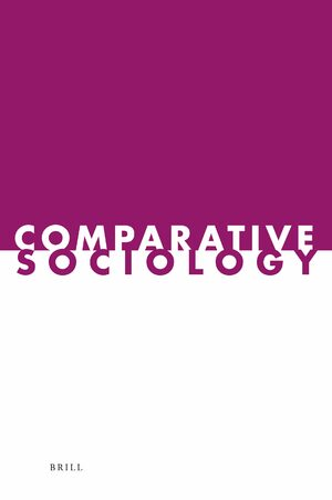 Cover Comparative Sociology