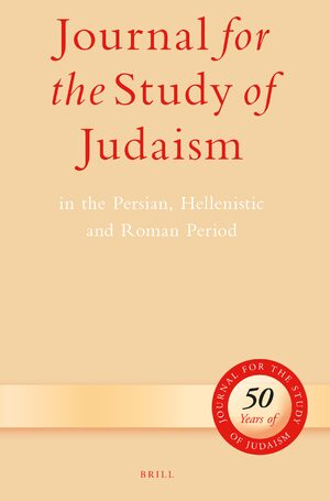 Journal for the Study of Judaism