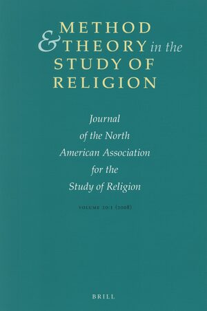 Method & Theory in the Study of Religion