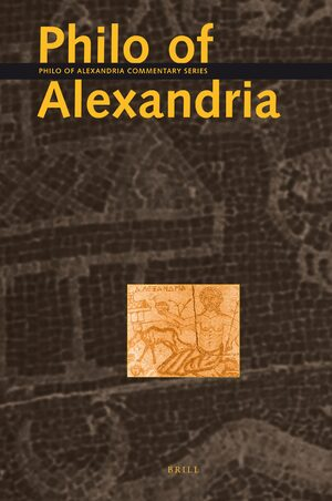 Cover Philo of Alexandria Commentary Series