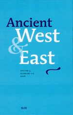 Cover Ancient West & East