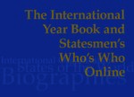 Cover The International Year Book and Statesmen's Who's Who Online