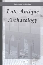 Cover Late Antique Archaeology