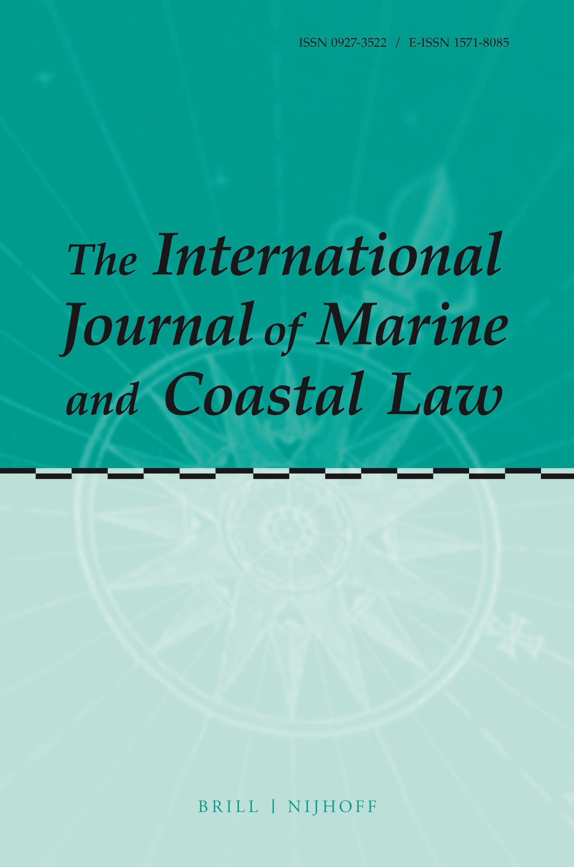 The International Journal Of Marine And Coastal Law Brill