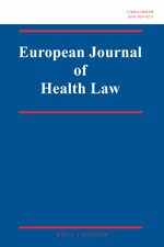 Cover European Journal of Health Law
