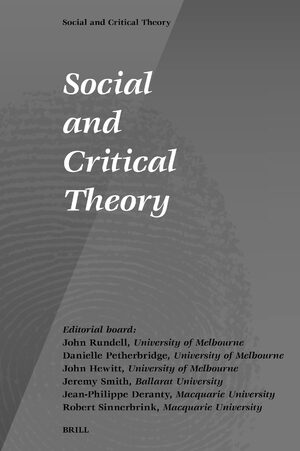 Social and Critical Theory