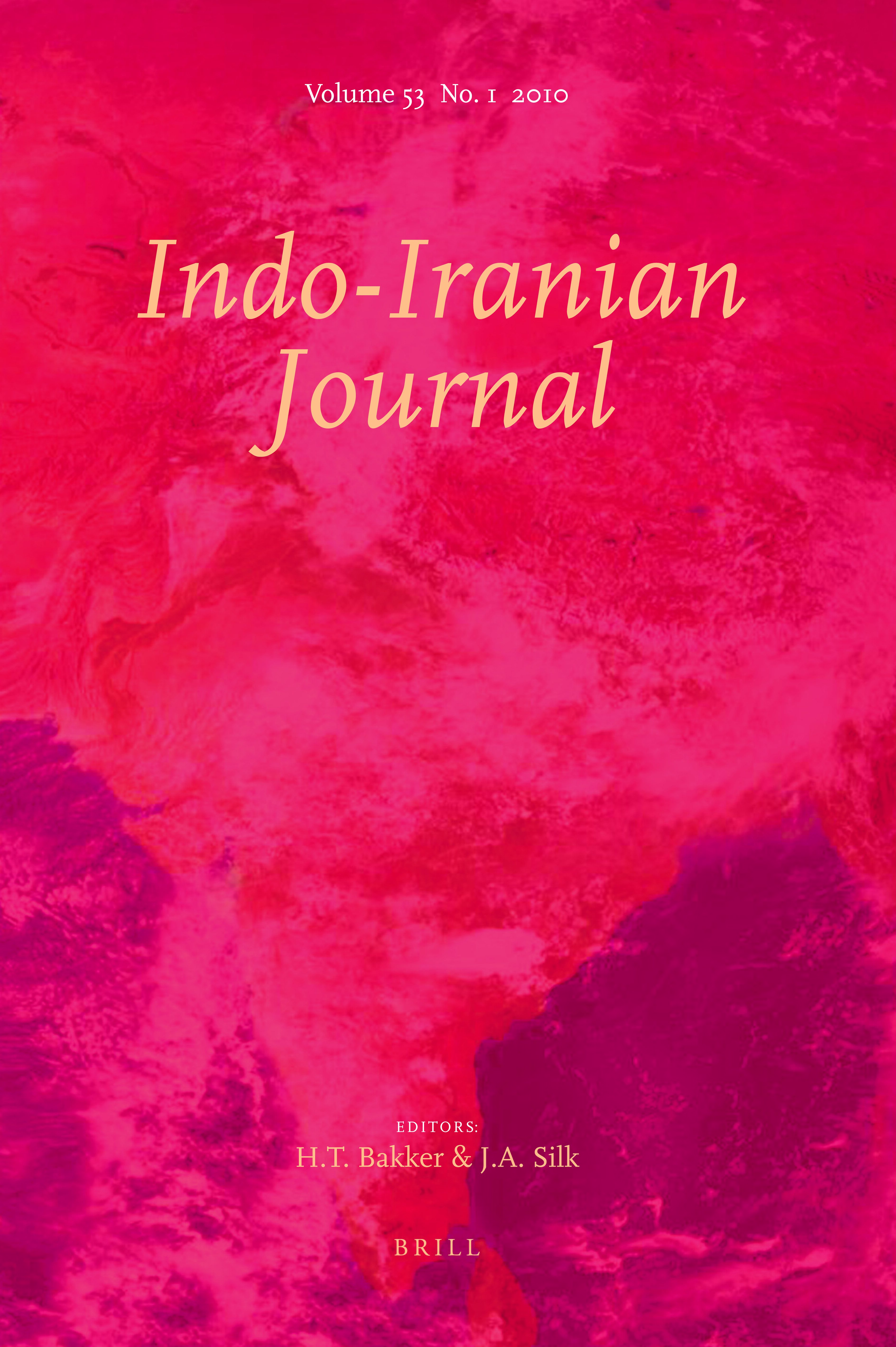 A Tide Of Merit In Indo Iranian Journal Volume 61 Issue 1