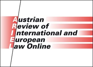 Austrian Review of International and European Law Online
