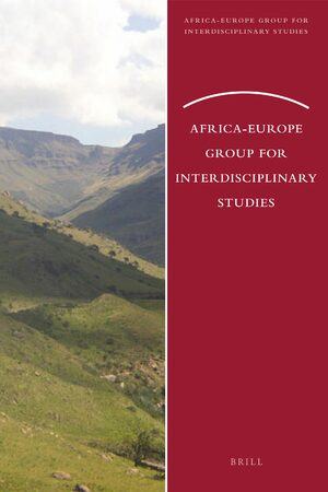 Cover Africa-Europe Group for Interdisciplinary Studies