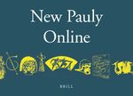 Cover New Pauly Online