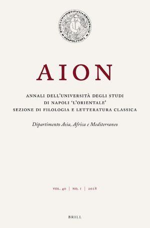 Elio Aristide Nella Scuola Tardoantica Commentari E