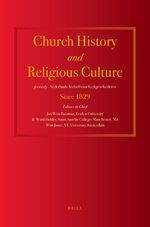 Church History and Religious Culture