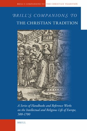 Cover Brill's Companions to the Christian Tradition
