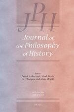 Cover Journal of the Philosophy of History