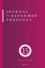 Cover Journal of Reformed Theology