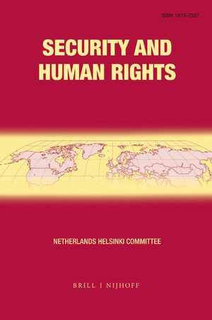 Human Rights and Climate Change in: Security and Human Rights Volume