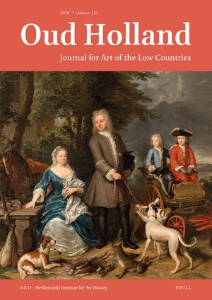Cover Oud Holland – Journal for Art of the Low Countries