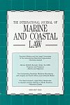 Cover International Journal of Estuarine and Coastal Law