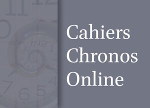 Cover Cahiers Chronos Online