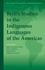Cover Brill's Studies in the Indigenous Languages of the Americas
