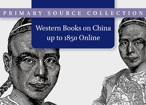 Cover Western Books on China up to 1850 Online