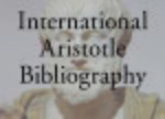 Cover The International Aristotle Bibliography