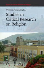 Cover Studies in Critical Research on Religion